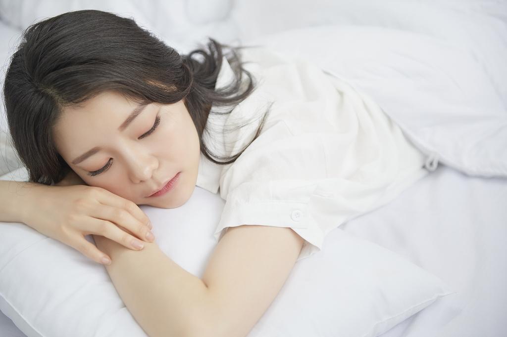 ぐっすり眠りやすくなります